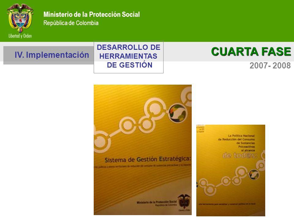 CUARTA FASE IV. Implementación 2007- 2008