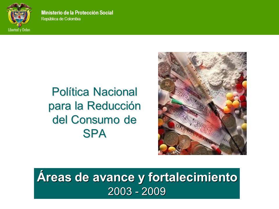 Política Nacional para la Reducción del Consumo de SPA