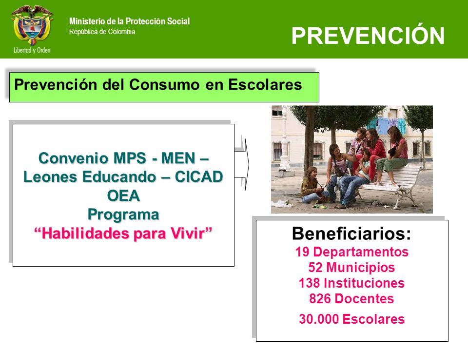 138 Instituciones 826 Docentes 30.000 Escolares