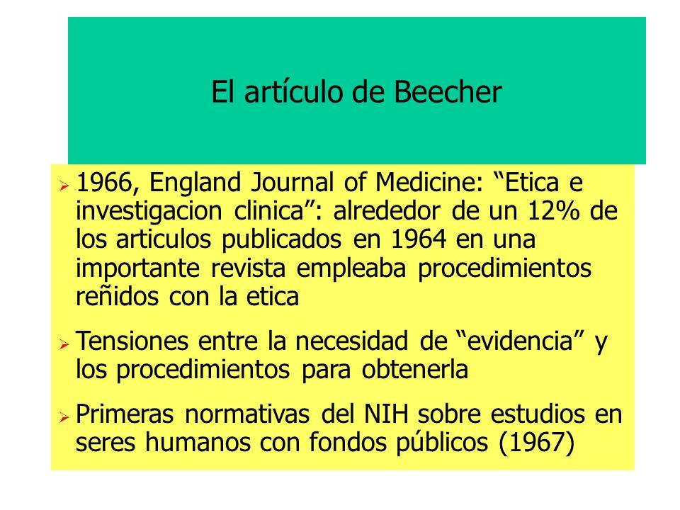 El artículo de Beecher