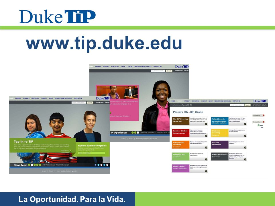 www.tip.duke.edu