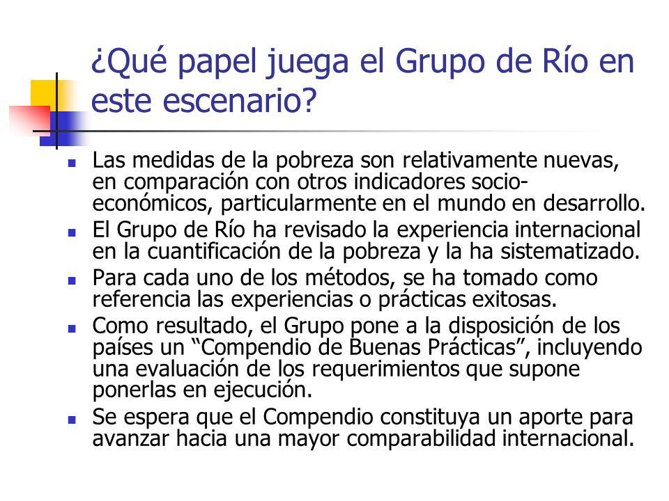 ¿Qué papel juega el Grupo de Río en este escenario