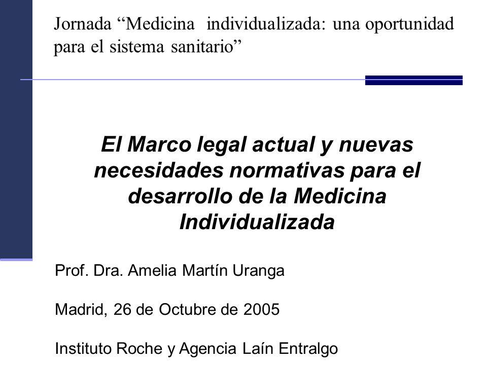 Jornada Medicina individualizada: una oportunidad para el sistema sanitario