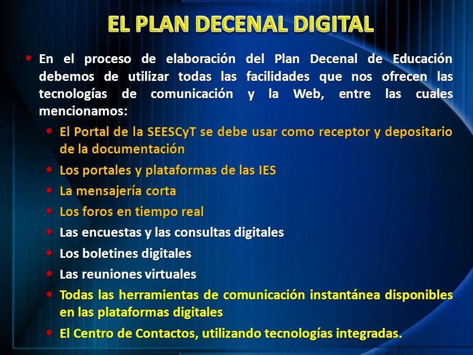 EL PLAN DECENAL DIGITAL