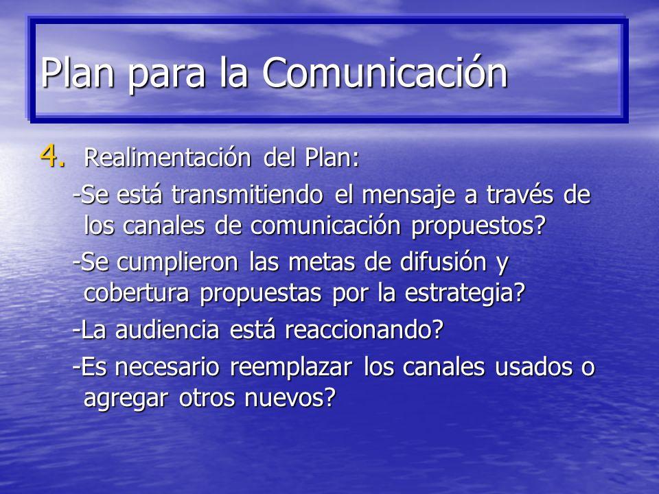 Plan para la Comunicación