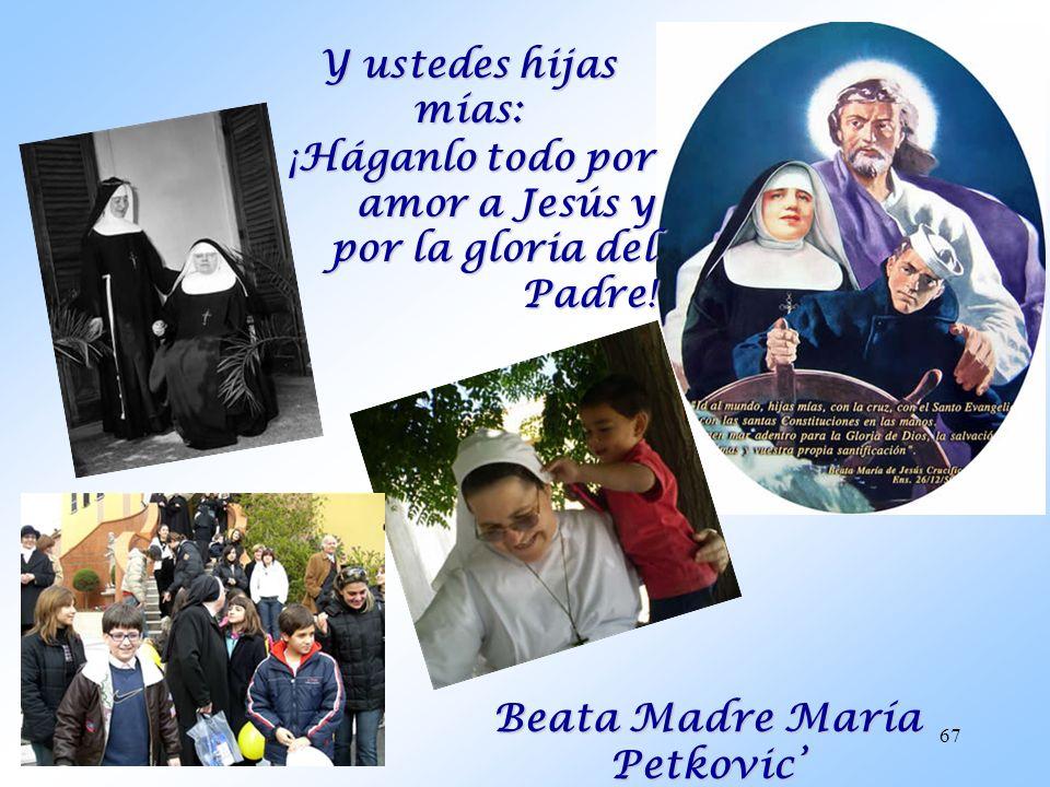 Beata Madre María Petkovic'