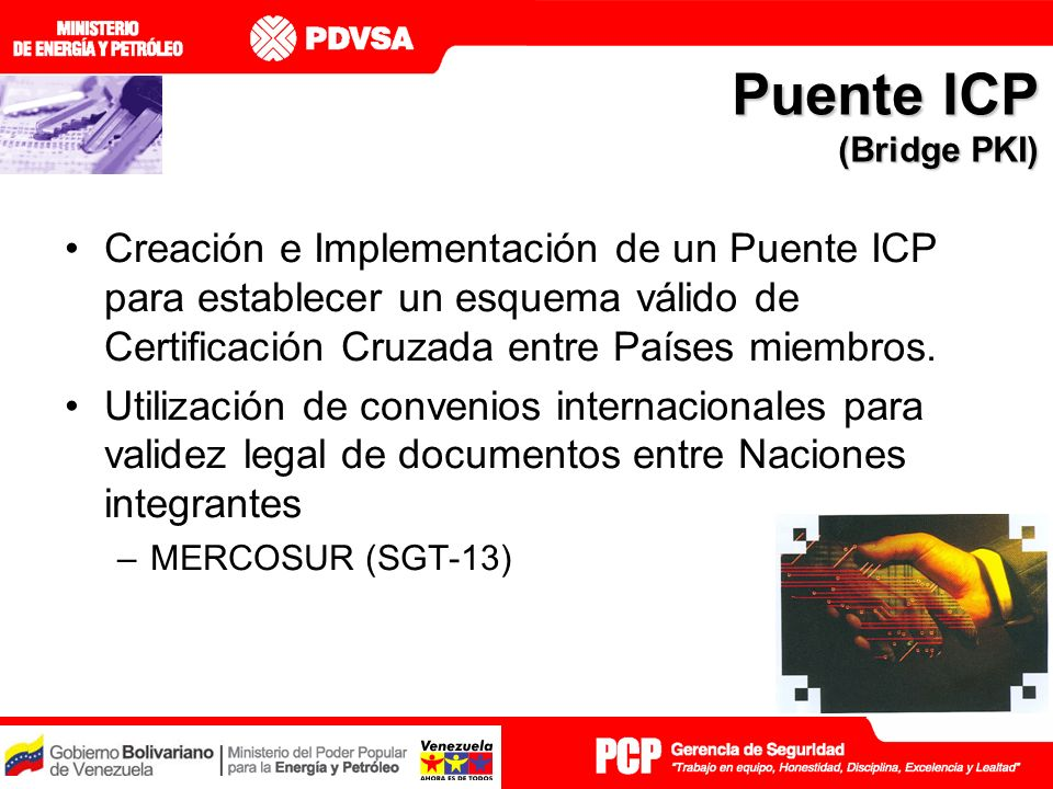 Puente ICP (Bridge PKI)