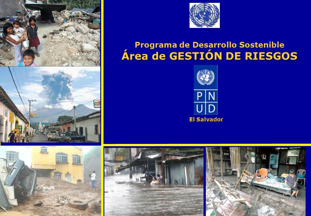 Programa de Desarrollo Sostenible Área de GESTIÓN DE RIESGOS