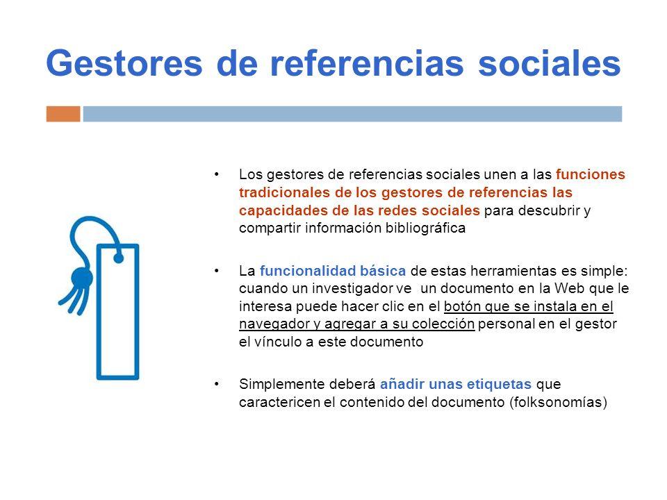 Gestores de referencias sociales