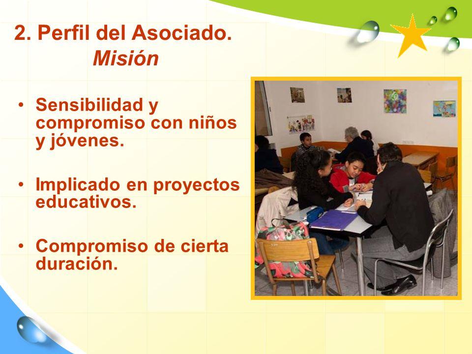 2. Perfil del Asociado. Misión
