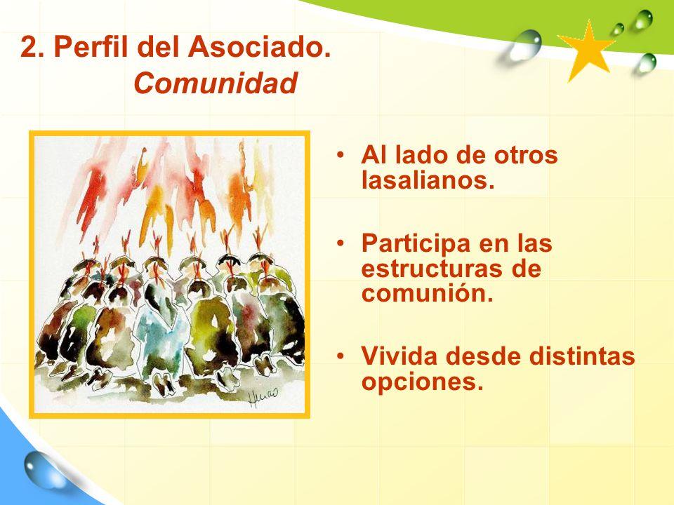 2. Perfil del Asociado. Comunidad