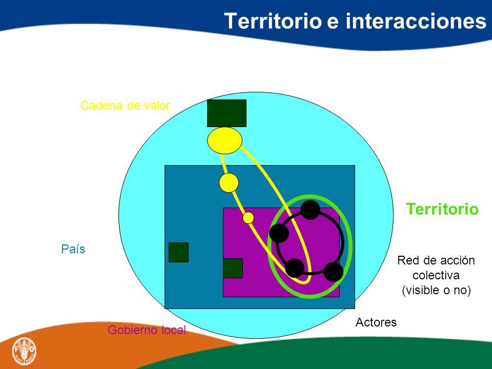 Territorio e interacciones