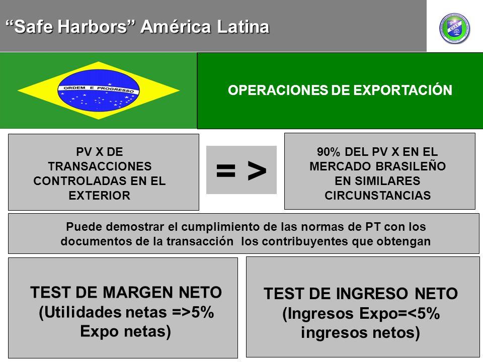 = > Safe Harbors América Latina