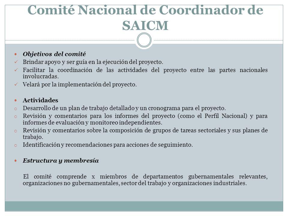 Comité Nacional de Coordinador de SAICM