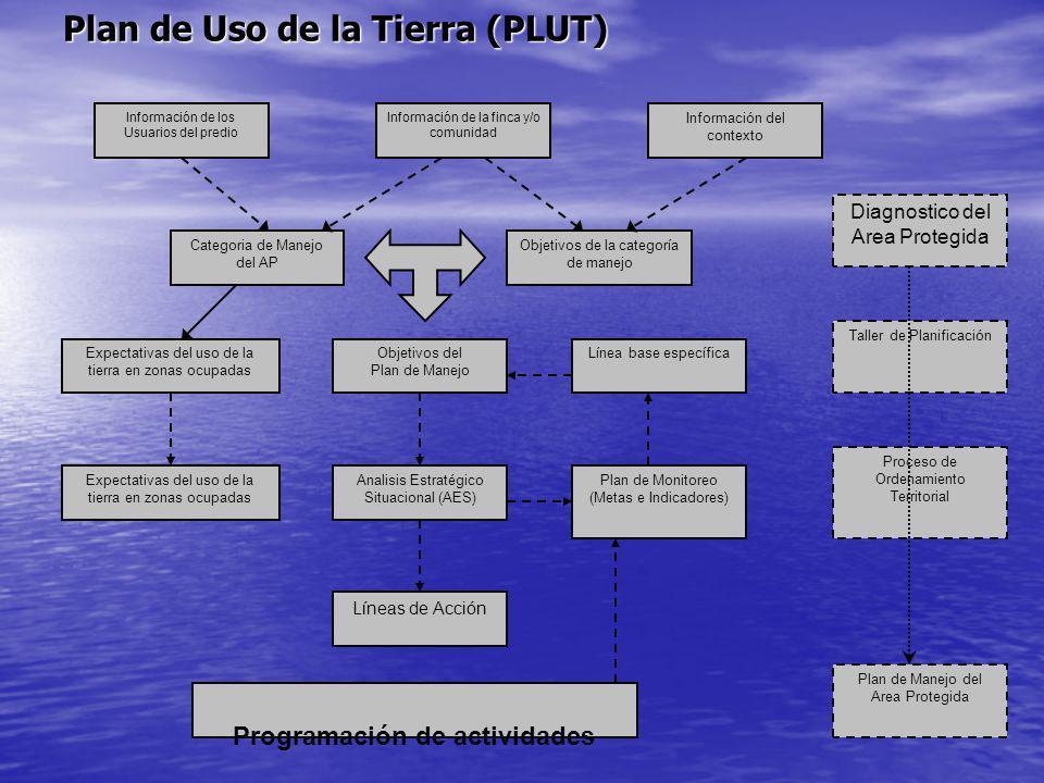 Plan de Uso de la Tierra (PLUT)