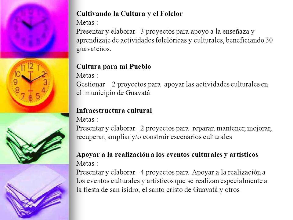 Cultivando la Cultura y el Folclor
