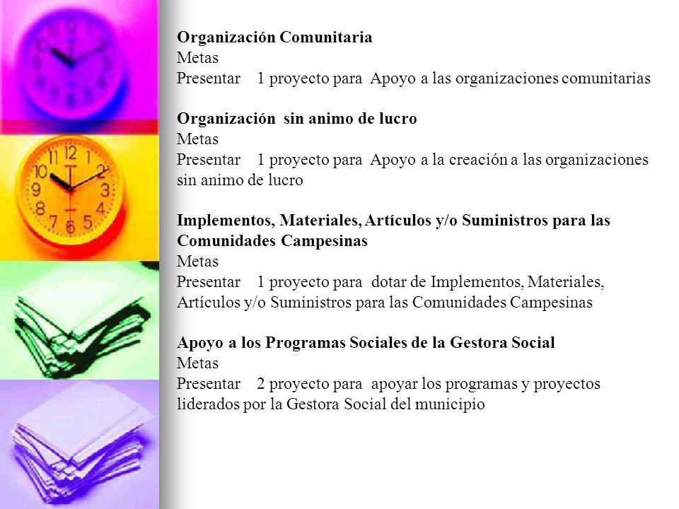 Organización Comunitaria