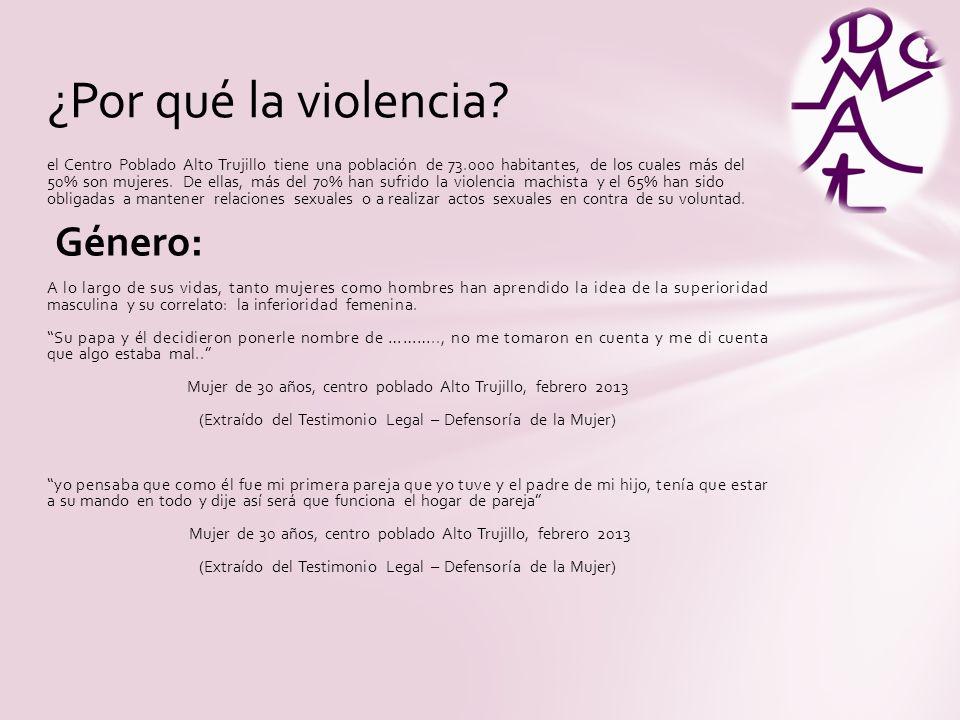 ¿Por qué la violencia Género:
