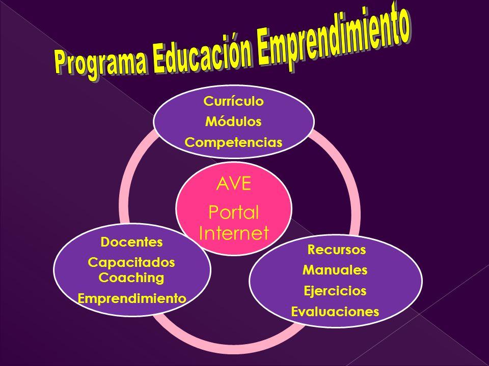 Programa Educación Emprendimiento