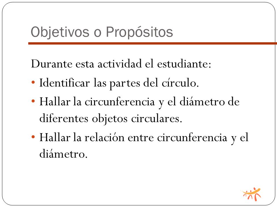 Objetivos o Propósitos