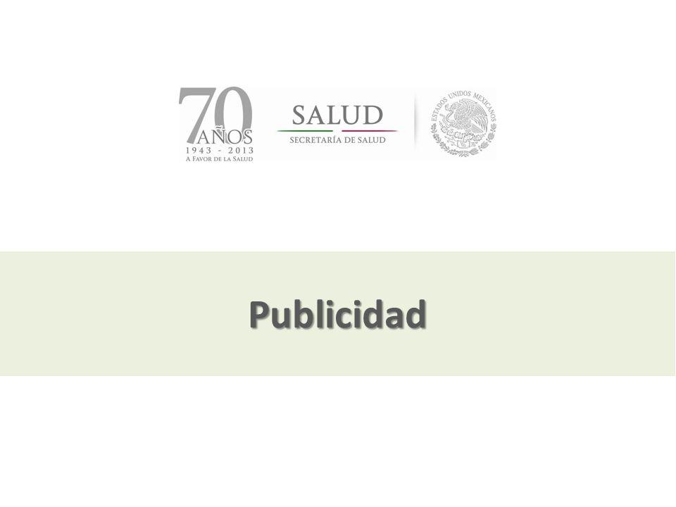 Publicidad Julio, 2013