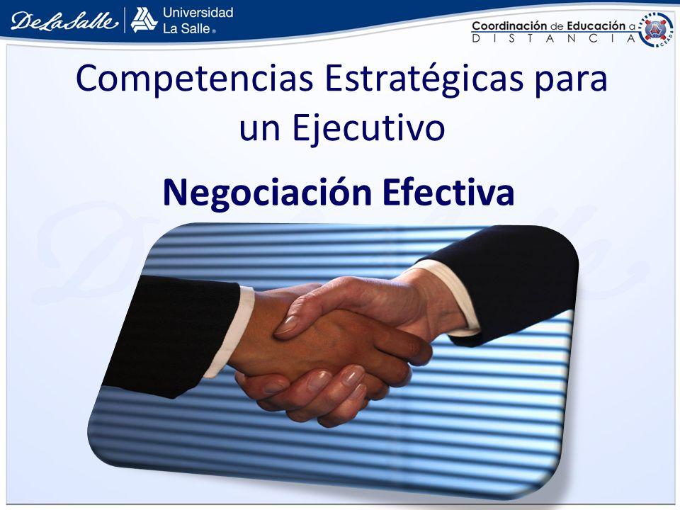 Competencias Estratégicas para un Ejecutivo