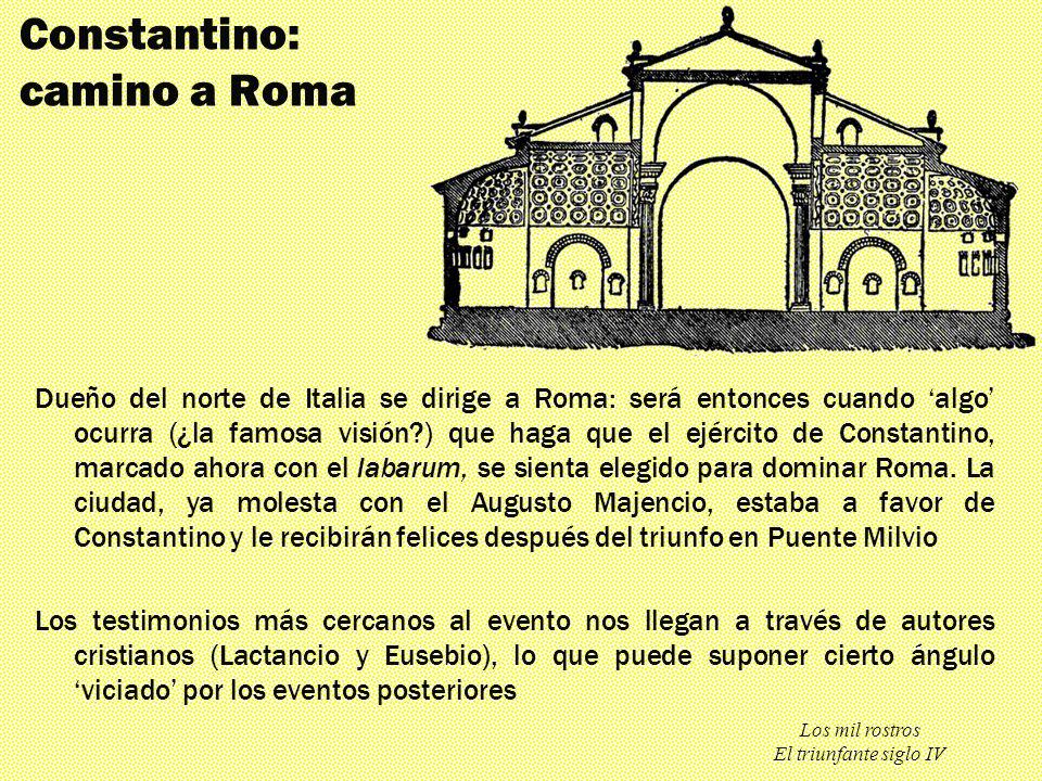 Constantino: camino a Roma