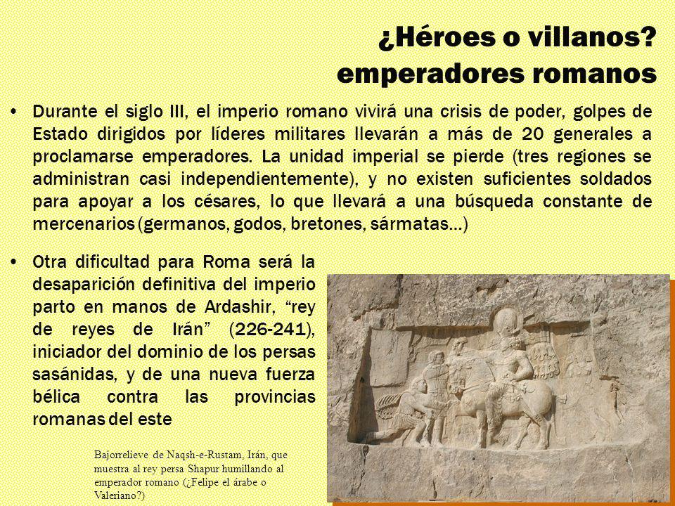 ¿Héroes o villanos emperadores romanos