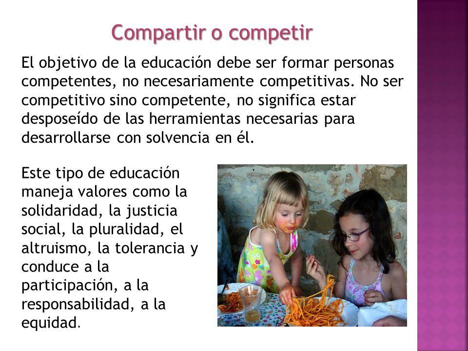 Compartir o competir