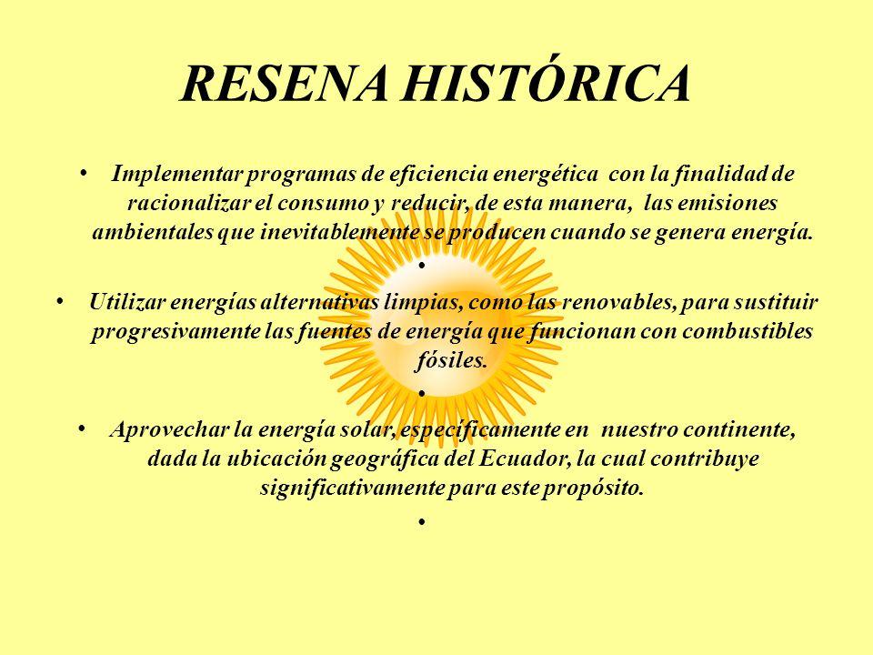 RESENA HISTÓRICA