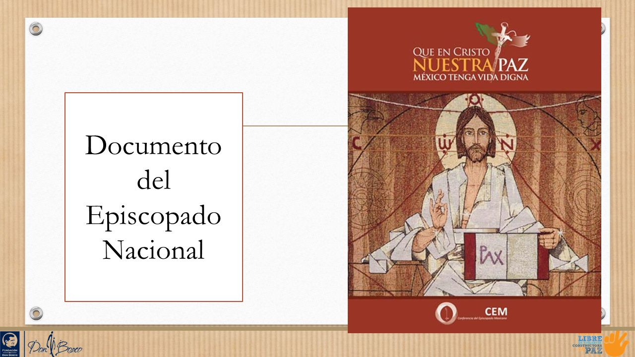 Documento del Episcopado Nacional