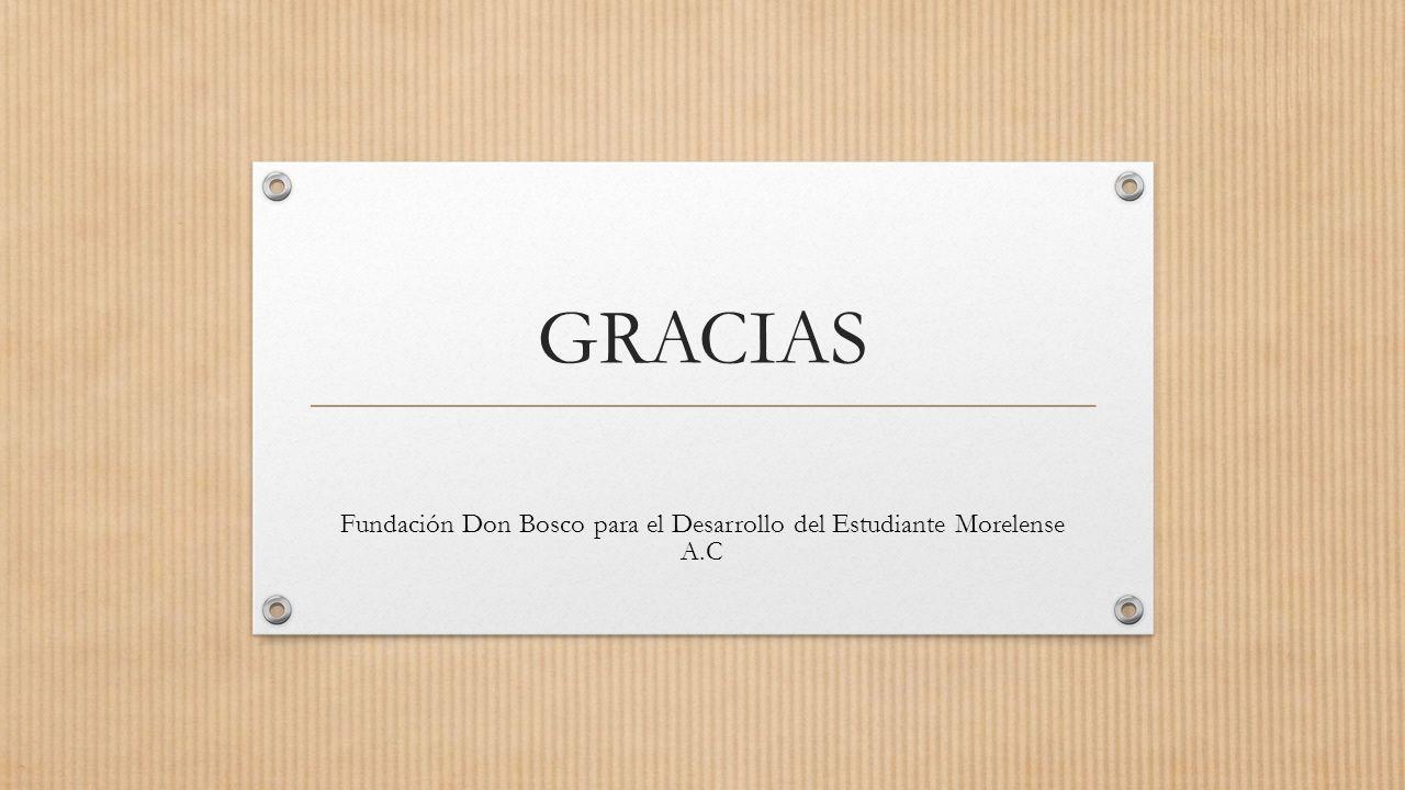 Fundación Don Bosco para el Desarrollo del Estudiante Morelense A.C
