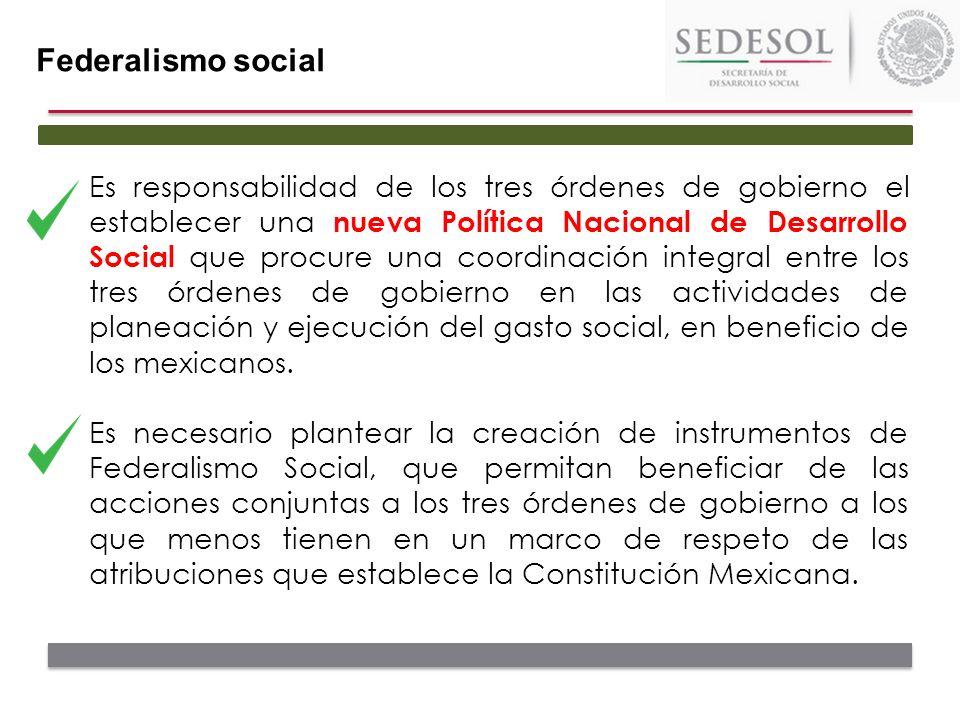 Federalismo social