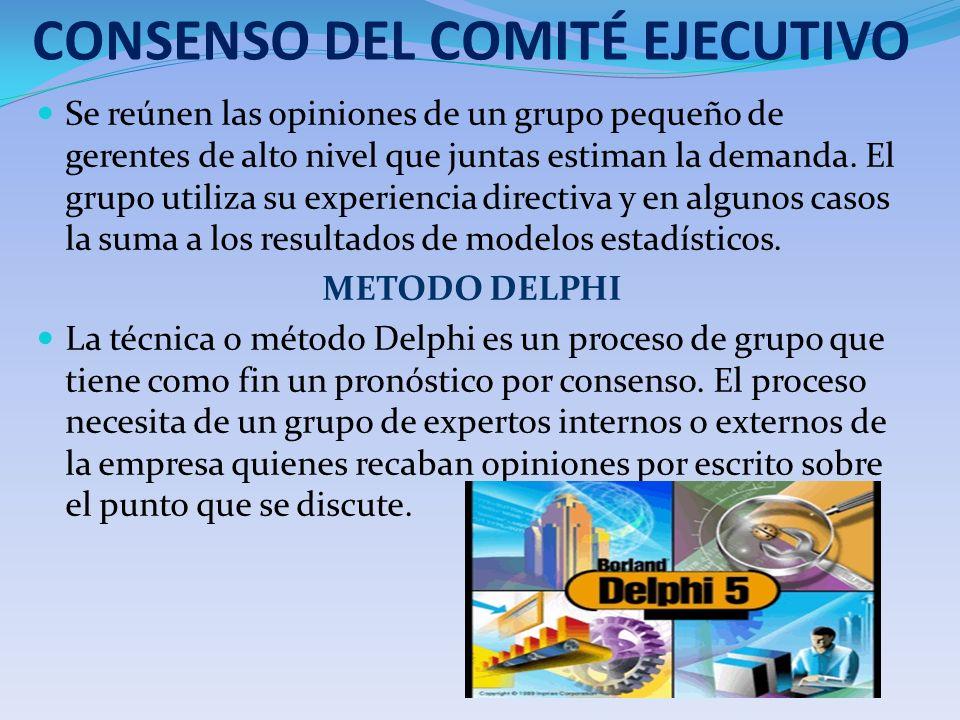 CONSENSO DEL COMITÉ EJECUTIVO