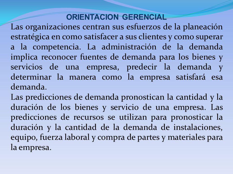 ORIENTACION GERENCIAL
