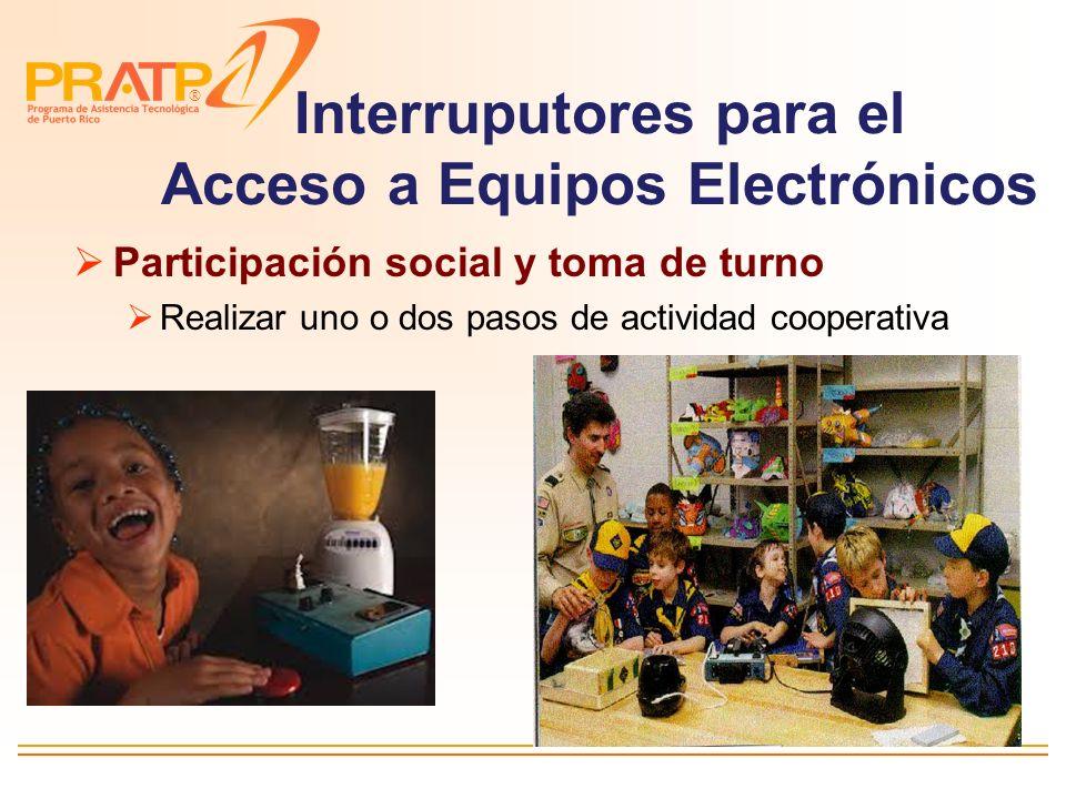 Interruputores para el Acceso a Equipos Electrónicos