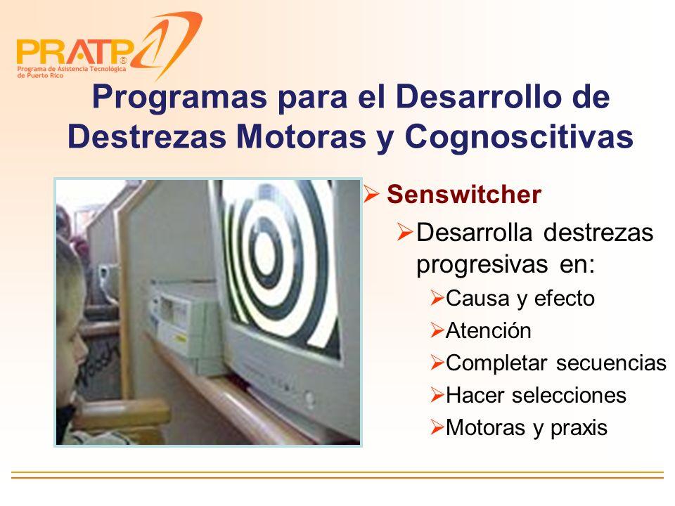 Programas para el Desarrollo de Destrezas Motoras y Cognoscitivas