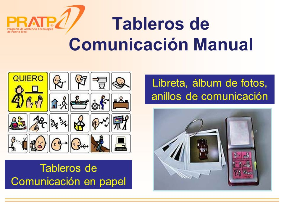 Tableros de Comunicación Manual