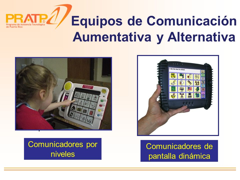 Equipos de Comunicación Aumentativa y Alternativa