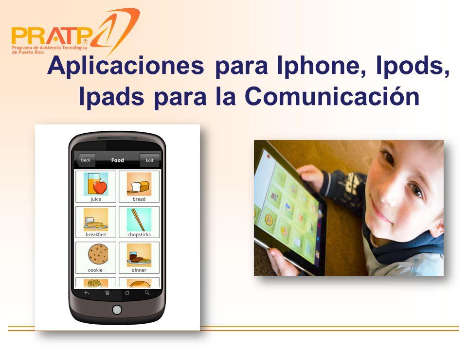 Aplicaciones para Iphone, Ipods, Ipads para la Comunicación