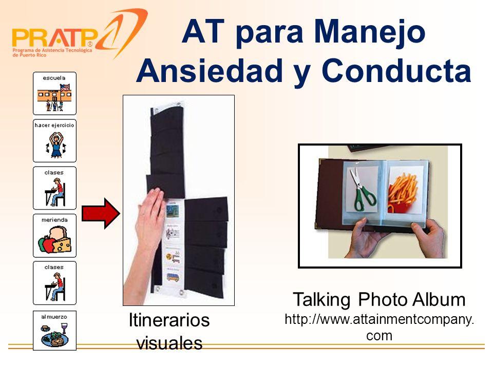 AT para Manejo Ansiedad y Conducta