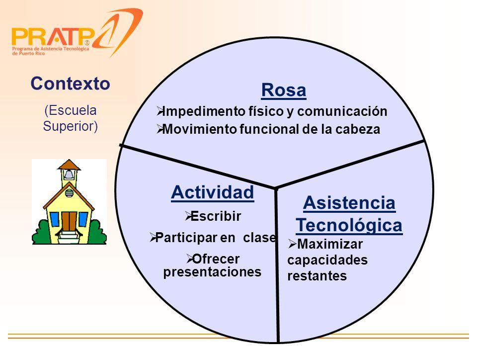 Ofrecer presentaciones Asistencia Tecnológica