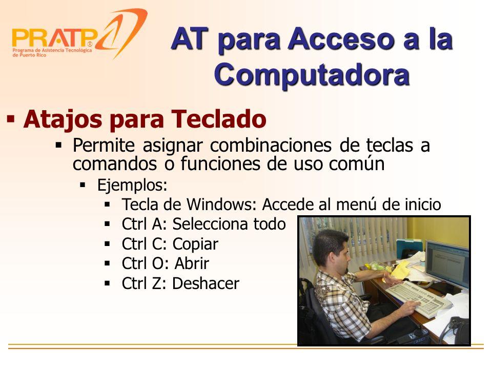 AT para Acceso a la Computadora
