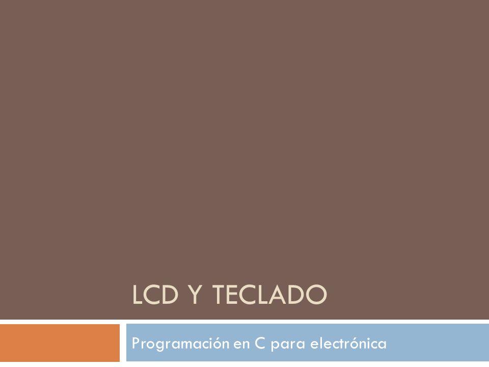Programación en C para electrónica