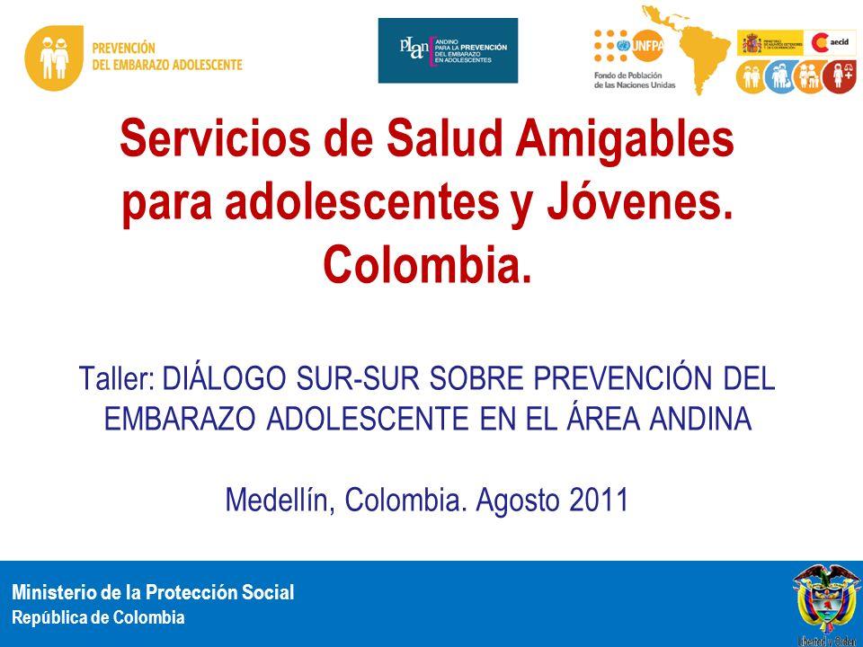 Servicios de Salud Amigables para adolescentes y Jóvenes. Colombia