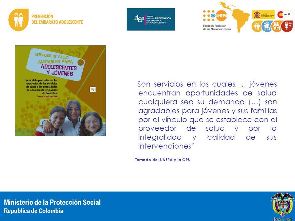 Son servicios en los cuales … jóvenes encuentran oportunidades de salud cualquiera sea su demanda (…) son agradables para jóvenes y sus familias por el vínculo que se establece con el proveedor de salud y por la integralidad y calidad de sus intervenciones