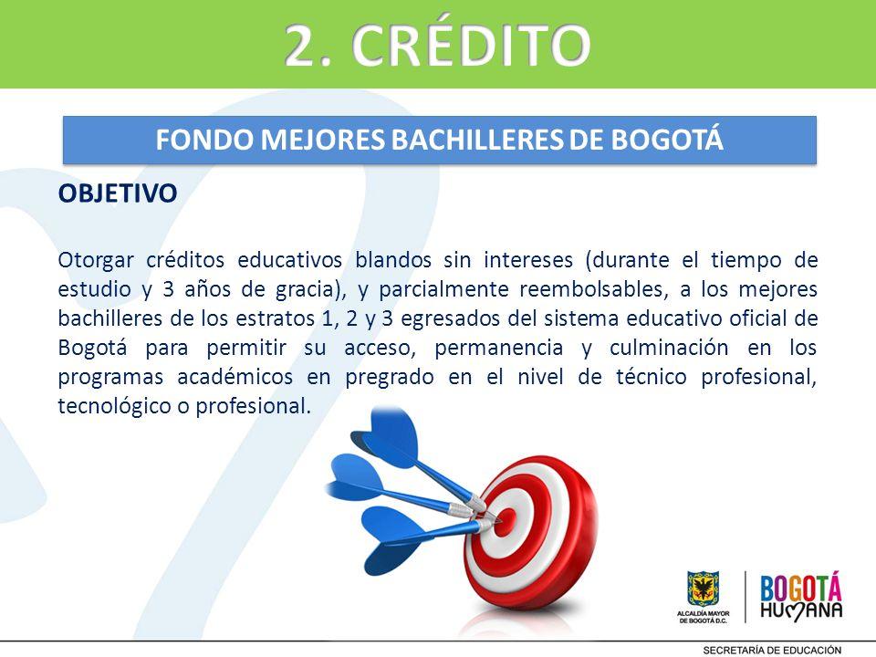 FONDO MEJORES BACHILLERES DE BOGOTÁ
