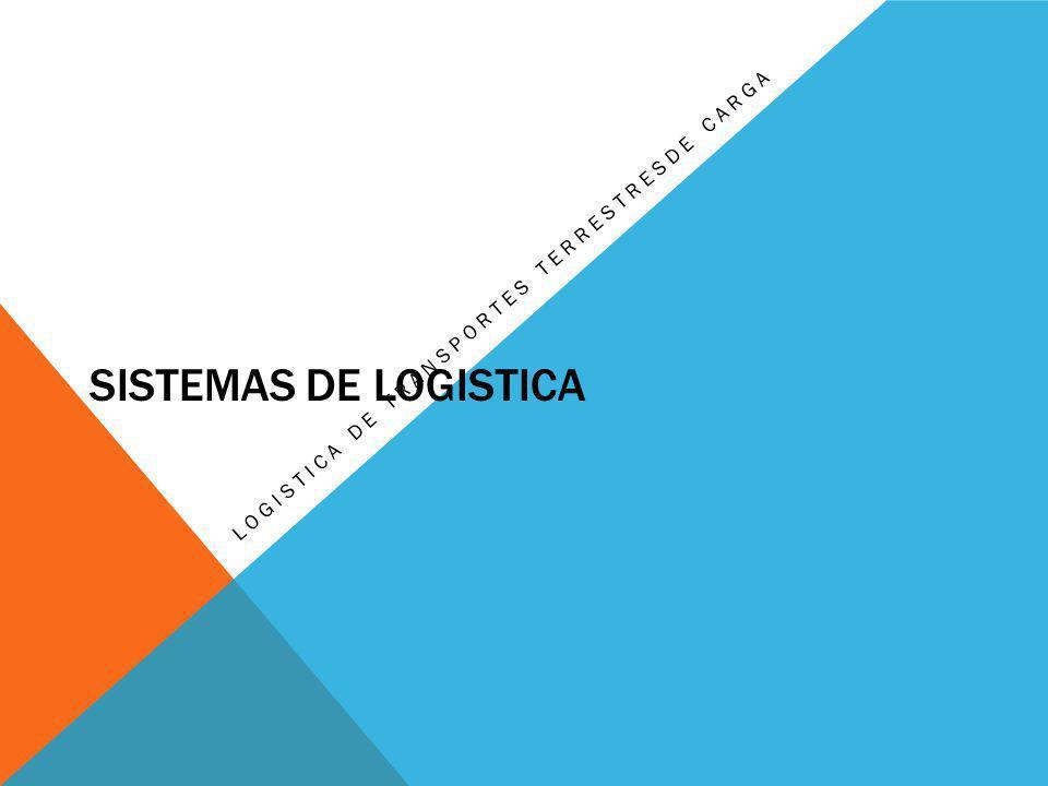 Logistica de transportes terrestresde carga