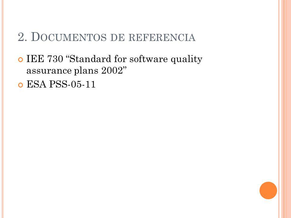 2. Documentos de referencia