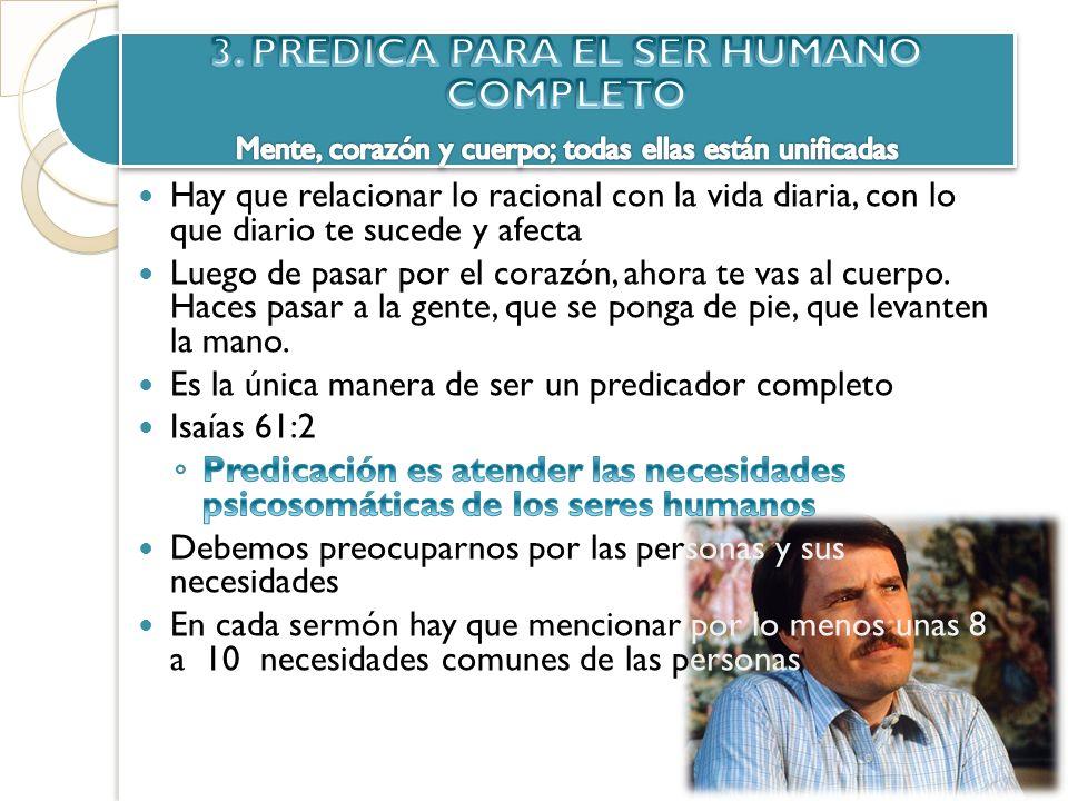 3. PREDICA PARA EL SER HUMANO COMPLETO